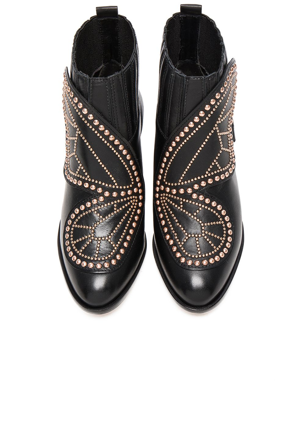 0a97177d828 Image 1 of Sophia Webster Karina Butterfly Boots in Black