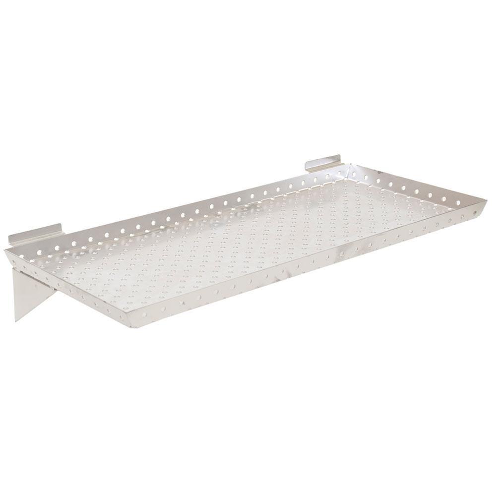 Kc Store Fixtures Kcf Slatwall Shelf 24 In W X 10 In D X 1 In