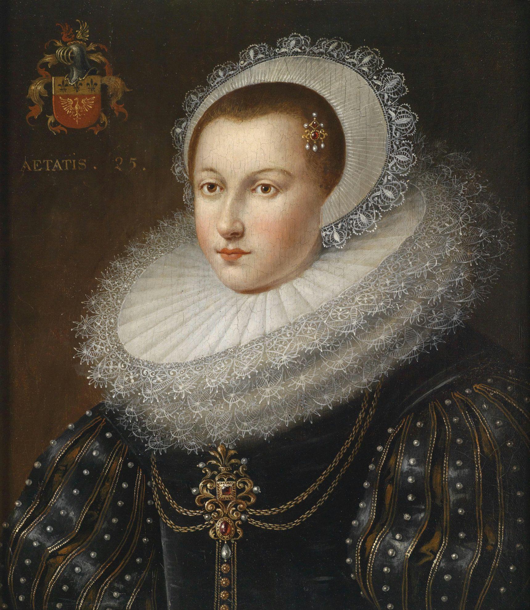 .:.Frans Pourbus d. J. (1569 - 1622), Portrait of a Woman