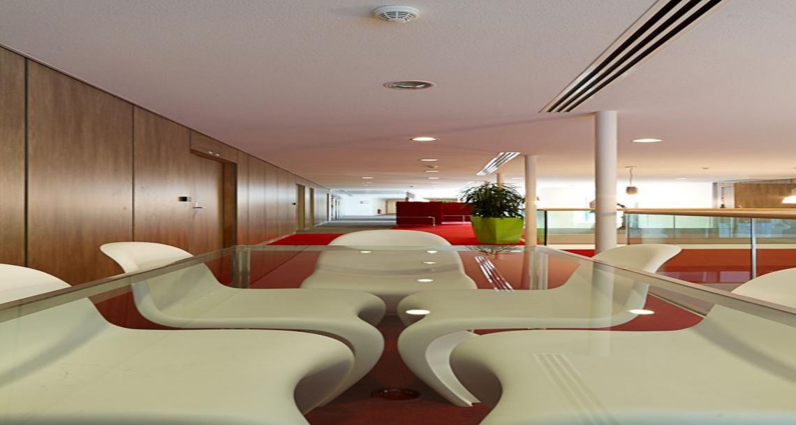 Meeting area into Heineken's premises in Rueil, France
