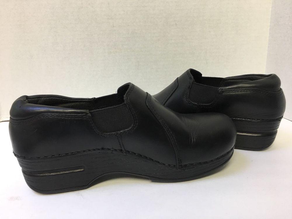 Dansko XP Black Tatum Ebony Pull Up Women s Shoes EU 36 US 5.5-6  Dansko   Clogs eff52f8b5