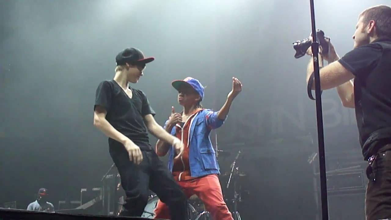 Justin Bieber and Jaden Smith Dancing