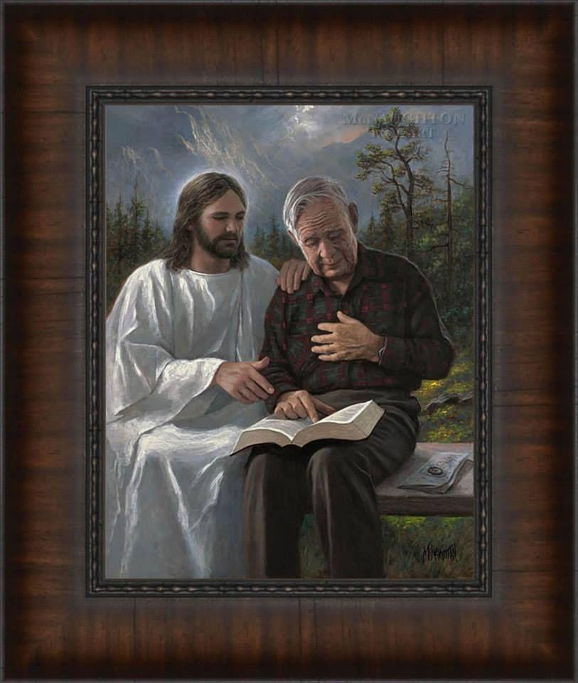 Jon Mcnaughton Art Jesus Christ