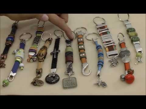 How To Make Cool Leather Keychains - Beginner  f29b4f09fa03