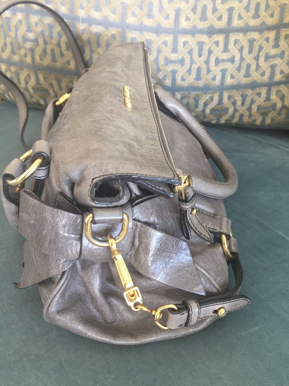 5373b2ca1e53 Vitello Lux Small Bow Bag by Miu Miu by Passerellafashion on Etsy ...