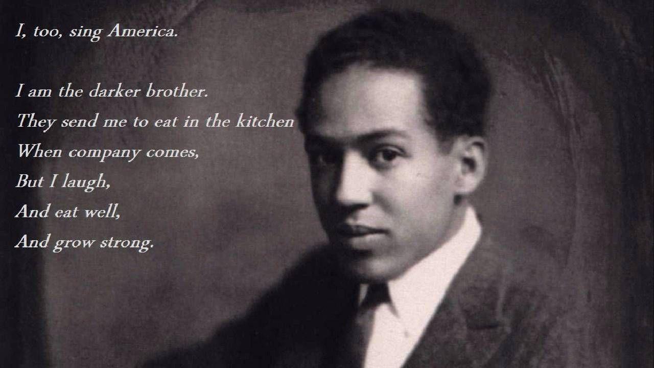 Read by Langston Hughes. Langston Hughes (1902 1967). ๑