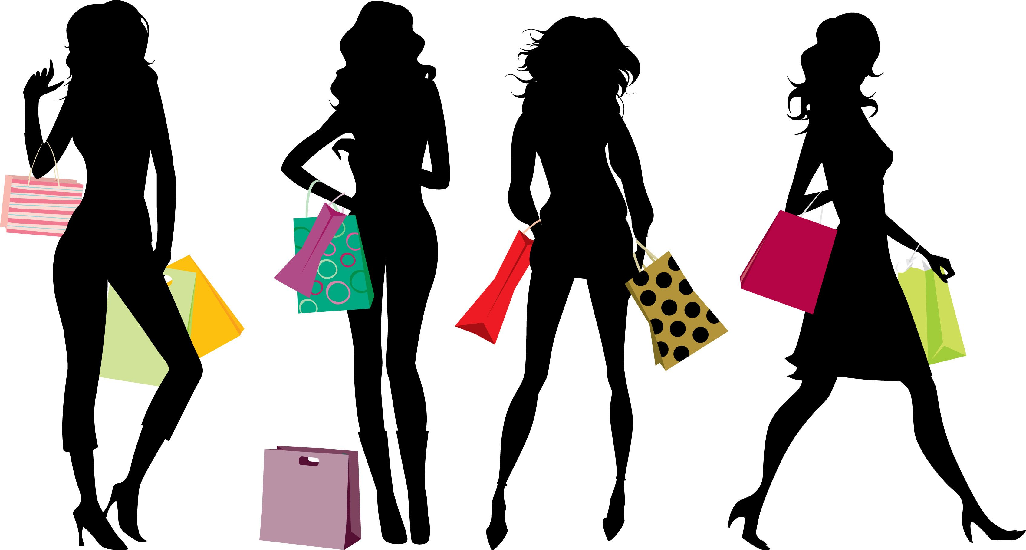 Shopping As A PlusSized Person Shopping clipart
