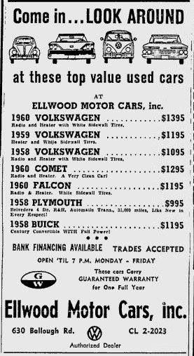 Vintage Classified Car Sale Newspaper Ad Car Advertising Used