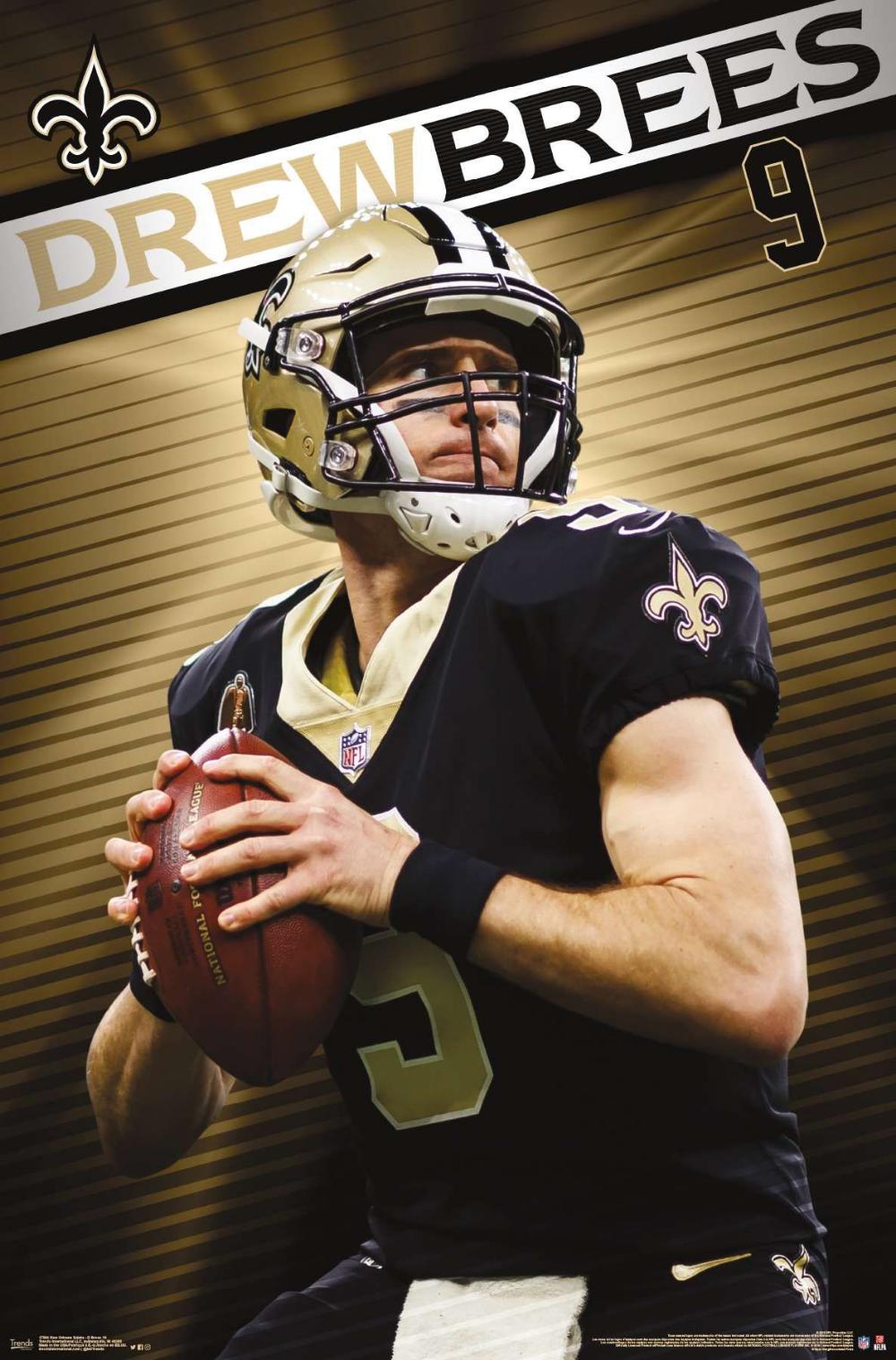 Nfl New Orleans Saints Drew Brees 19 New Orleans Saints New Orleans Saints Football Saints Football