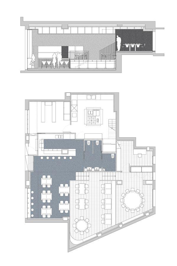 Delicados filtros de madera separan los diferentes - Estudios arquitectura bilbao ...