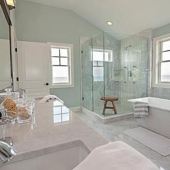 Spa Like Coastal Bathroom …  Pinteres… Prepossessing Spa Bathroom Remodel Design Ideas