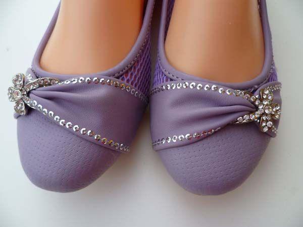 Purple Wedding Shoes | flat purple wedding shoes Glamorous Purple ...