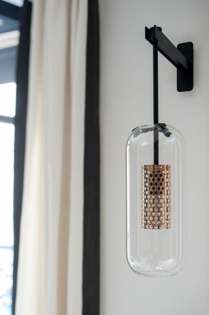 applique vadim noir luminaires sarah lavoine. Black Bedroom Furniture Sets. Home Design Ideas