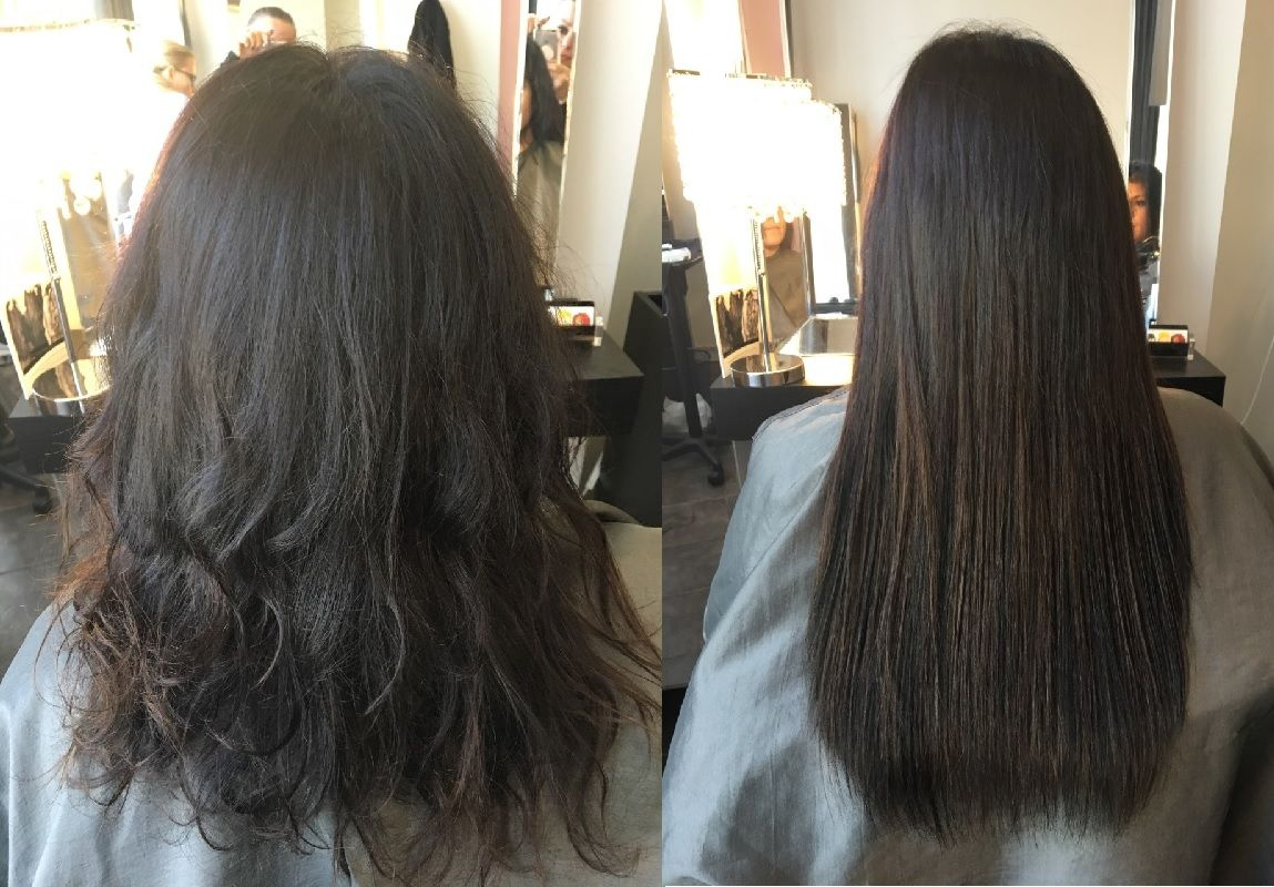 Hair Extensions Great Lengths Fusion Method Applied By Areta Hair