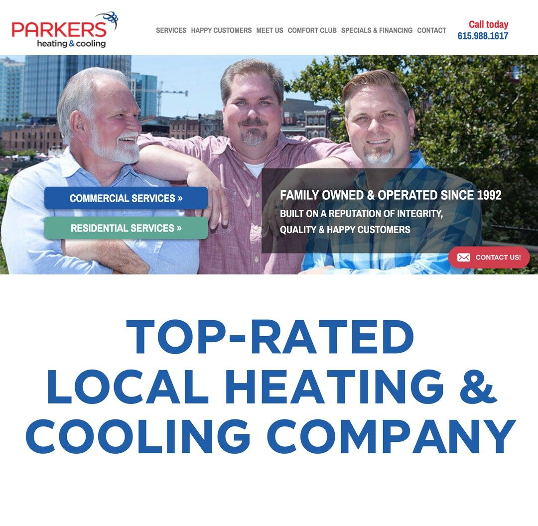 Business Highlight Parker S Heating Cooling Family Owned