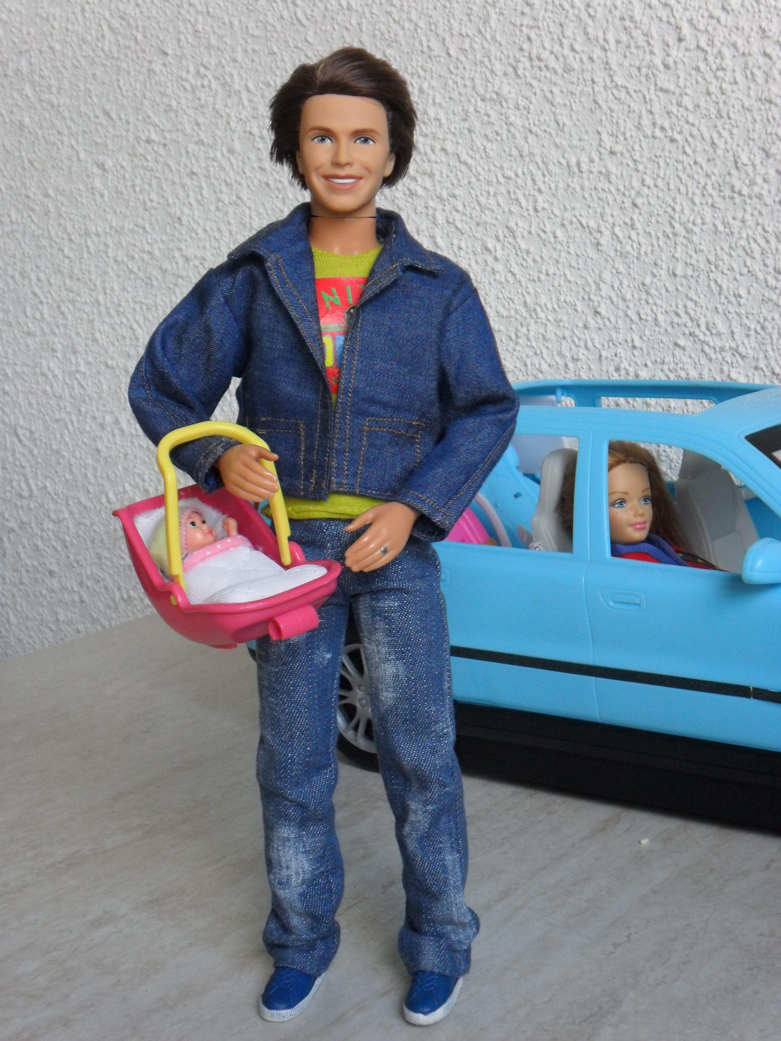 Bringing Home Baby Happy Family Alan Barbie Happy
