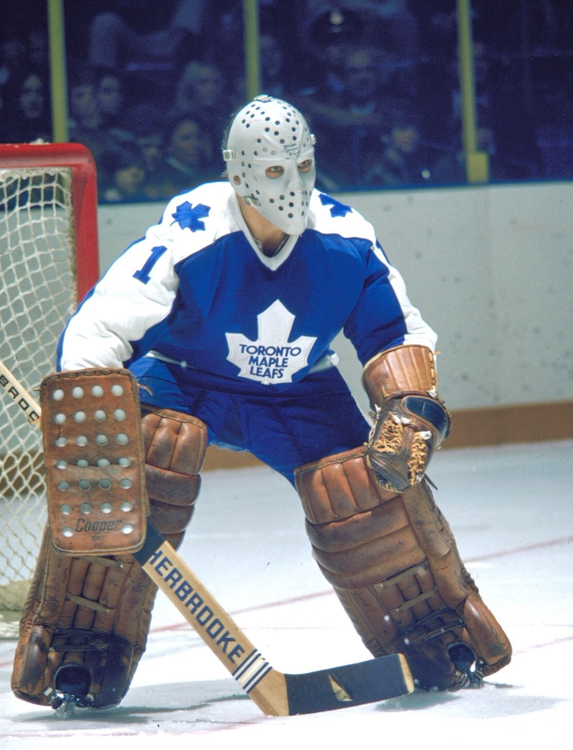 Jacques Plante (197073) Goalie mask, Maple leafs, Retro