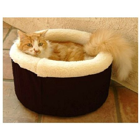 Majestic Pet Products Cat Cuddler Pet Bed 20 inch Black in