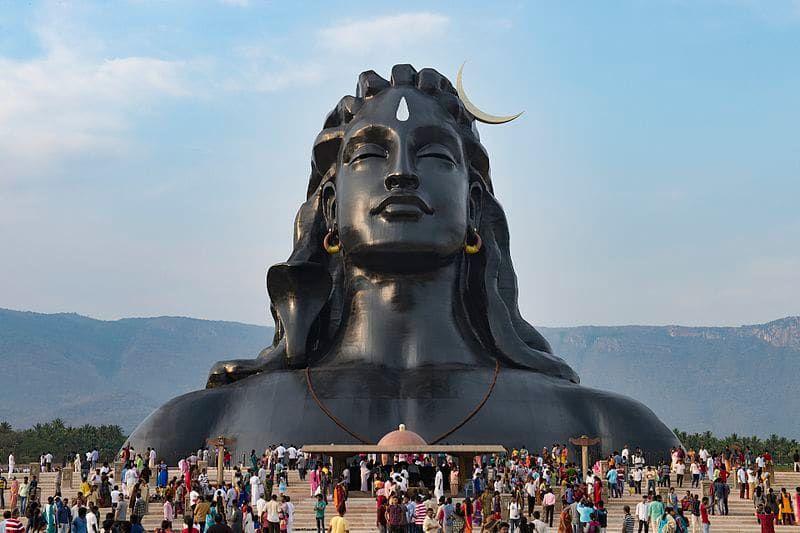 Top 20 Biggest Statues Of India In 2021 Isha Yoga Shiva Statue Adiyogi statue shiva wallpaper hd