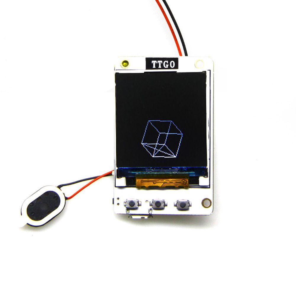 TTGO TS v1 0 v1 2 esp32 1 44 1 8 TFT MicroSD card slot speakers
