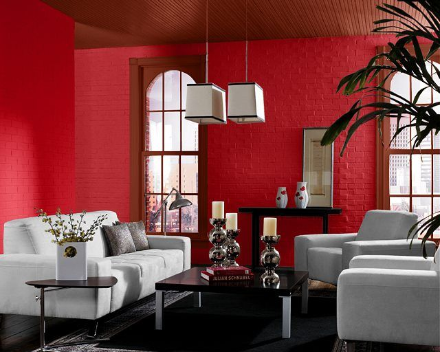 Dare To Go With A Bold Color Like Heartthrob Sw 6866 Living