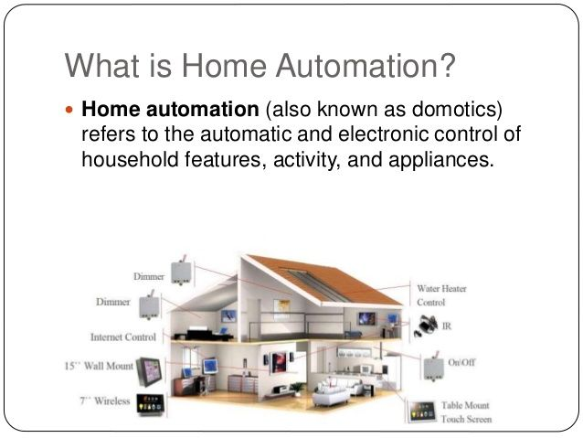 Homeautomation Home Automation Water Heater Automation