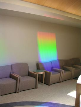 Rainbow Effects at the Scripps Center for Integrative Medicine