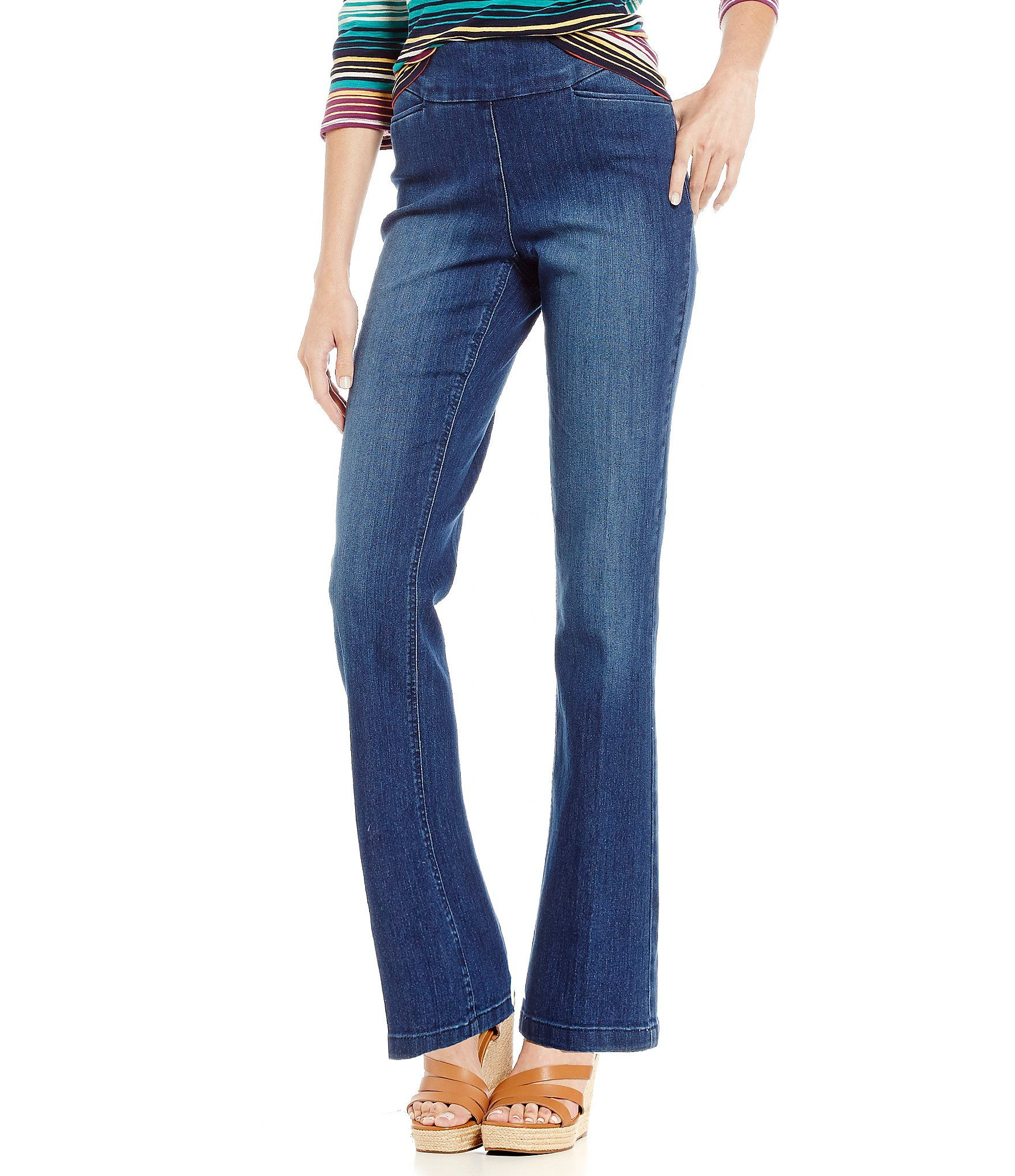 5b56a66170e96 Westbound the PARK AVE fit Denim Bootcut Pants in 2019