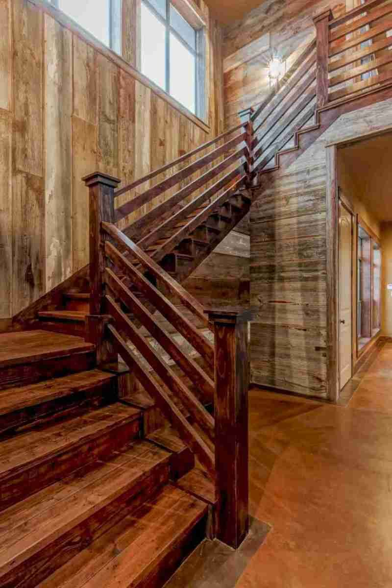 14 Extraordinary and Unique Rustic Stairs Ideas result ...