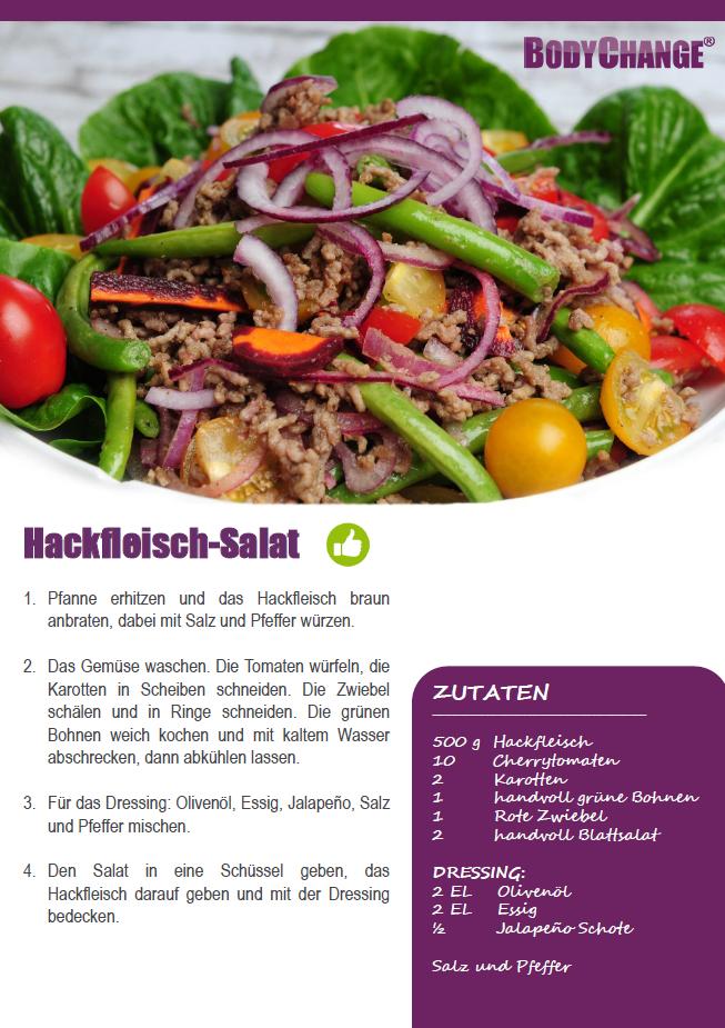 Hackfleisch Salat Rezept Oder Mit Minced Meat Anyway German