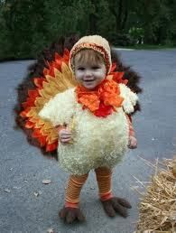It's Toddler Turkey, our Thanksgiving Super Hero!