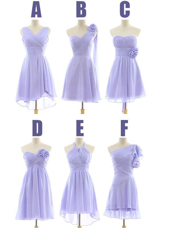 Mismatched Bridesmaid Dresses For Lilac Color | Bridesmaid Dresses ...