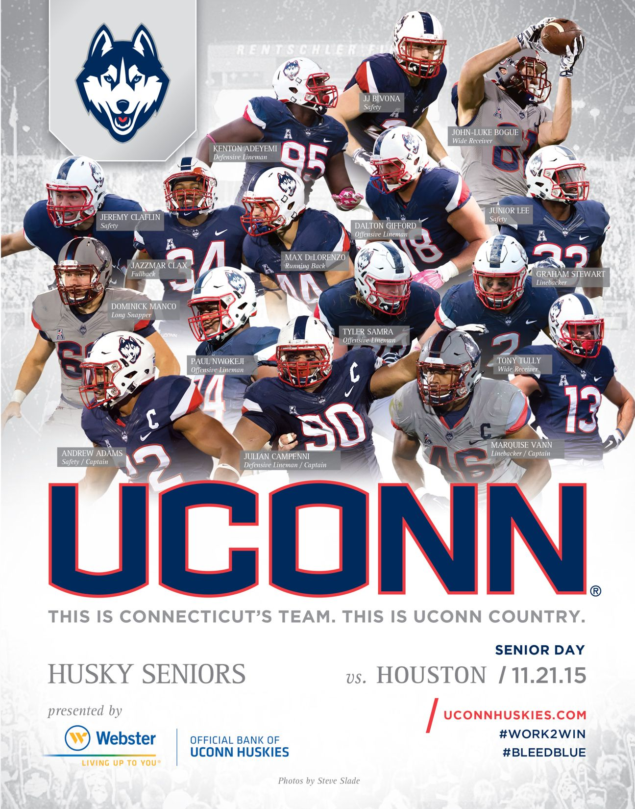 Official 2015 Uconn Huskies Football Roster Cards Are Available