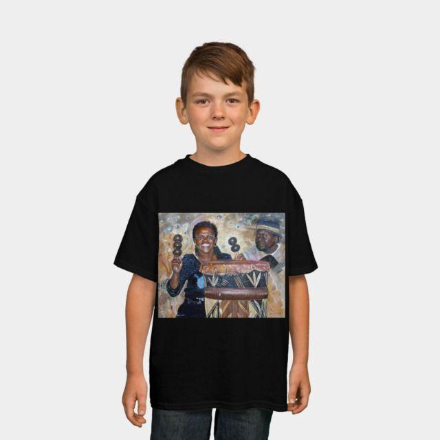 Djembé & Drums T Shirt By CamphuijsenArt Design By Humans