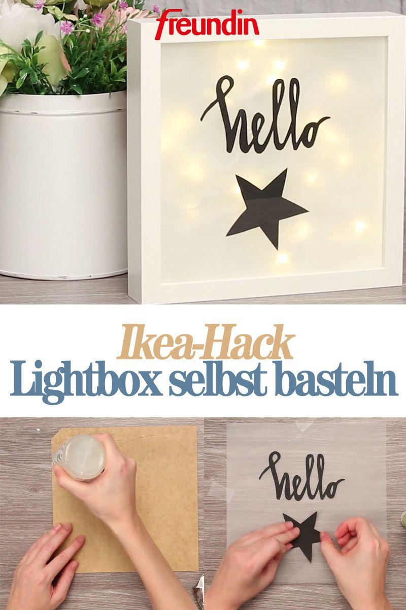Photo of Ikea-Hack: Make your own lightbox | freundin.de