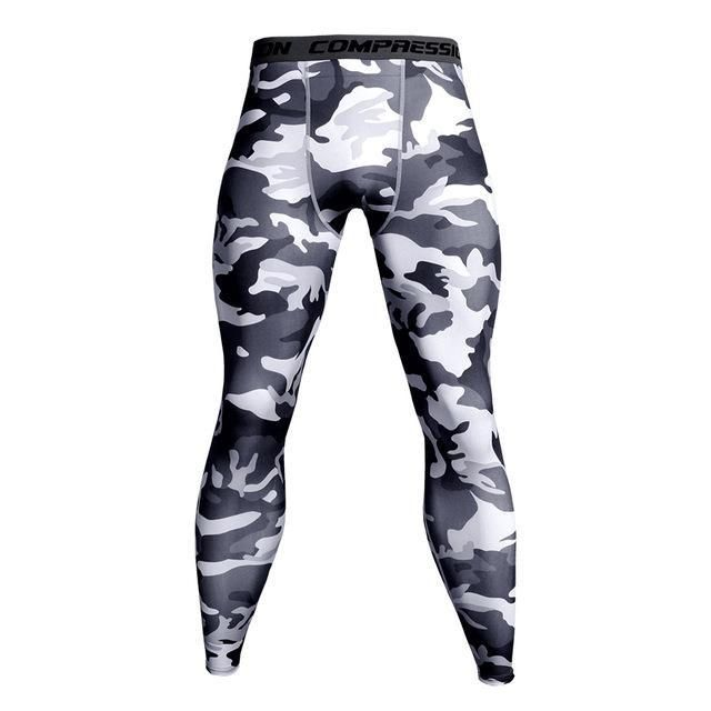 404648e829 2018 Joggers Men Sweatpants Quick Dry Bodybuilding Jogger Fitness Legging  Camouflage Crossfiteosewe. 2018 Mens Leggings White Compression Pants Men  Elastic ...