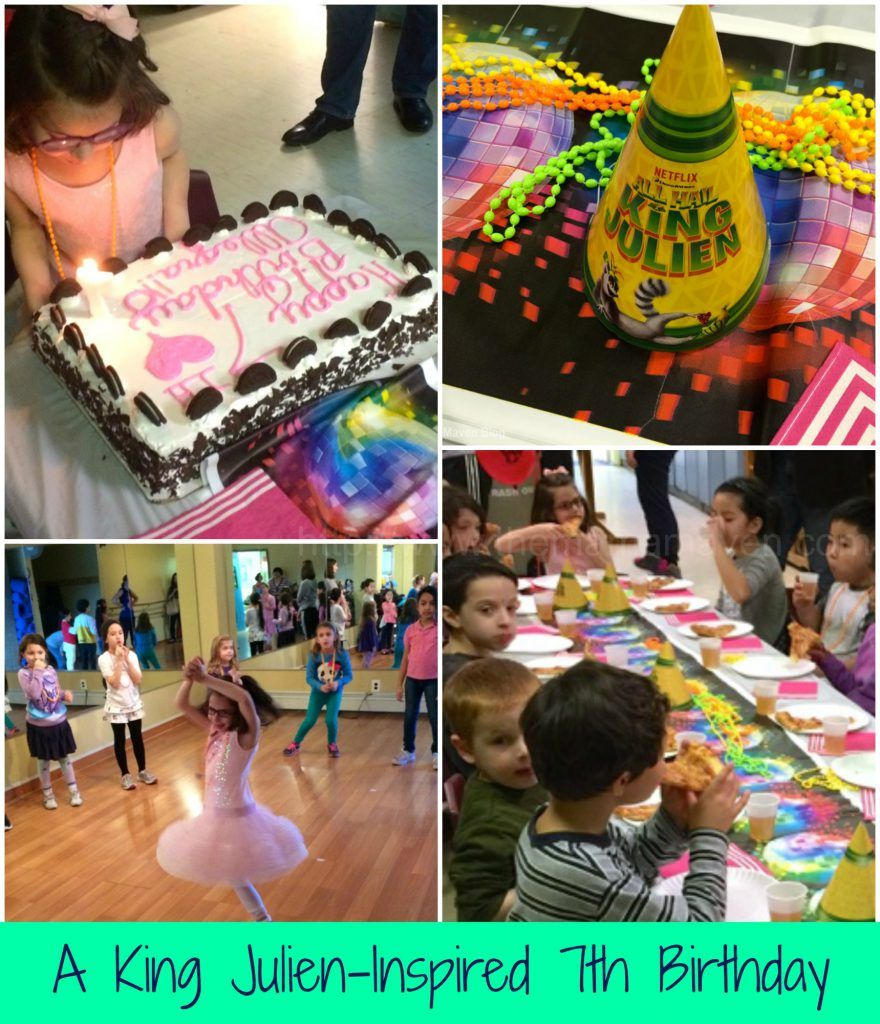 A King Julien-Inspired 7th Birthday Party | The Mama Maven Blog | @themamamaven