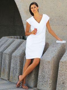 Kleid a linie nahen schnittmuster