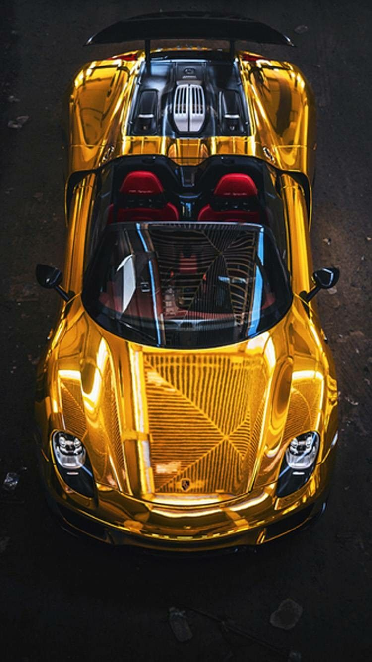 Gold Cool Cars : Wallpaper, Iphone, Wallpaper,, Wallpapers,, Sports