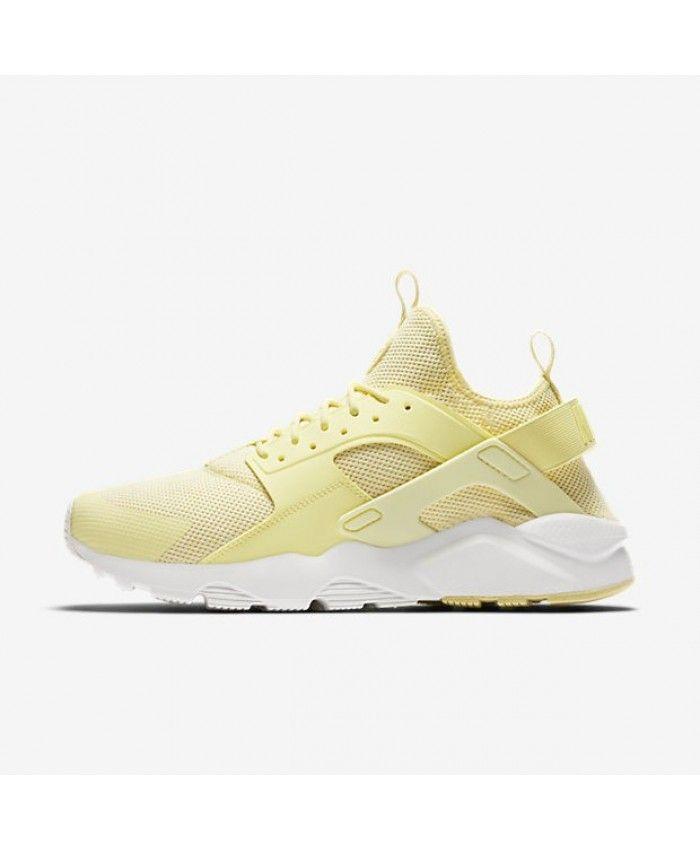 fd848d7c2328 Nike Air Huarache Ultra Breathe Lemon Chiffon Summit White Lemon Chiffon  Shoe