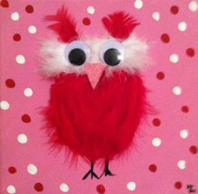 Kid's Fun Owl Painting!
