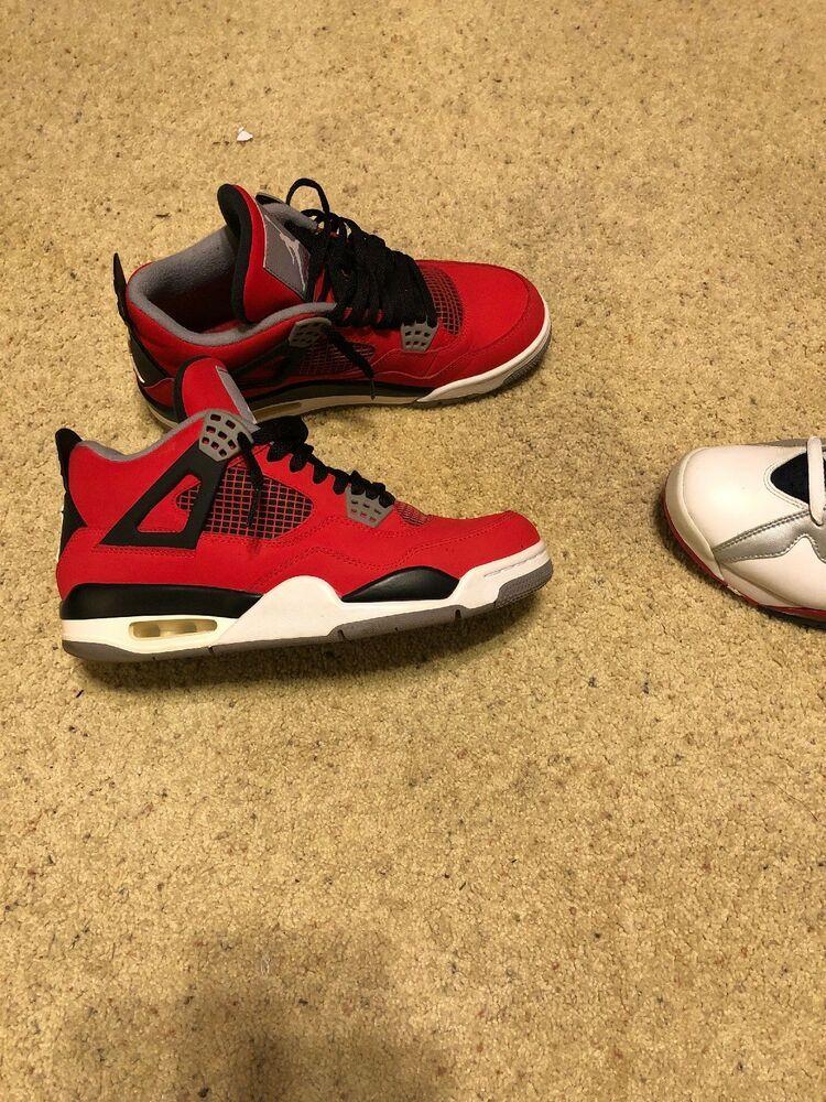 4c966b56009144 Nike air jordan 4 retro toro bravo  fashion  clothing  shoes  accessories   mensshoes  athleticshoes (ebay link)