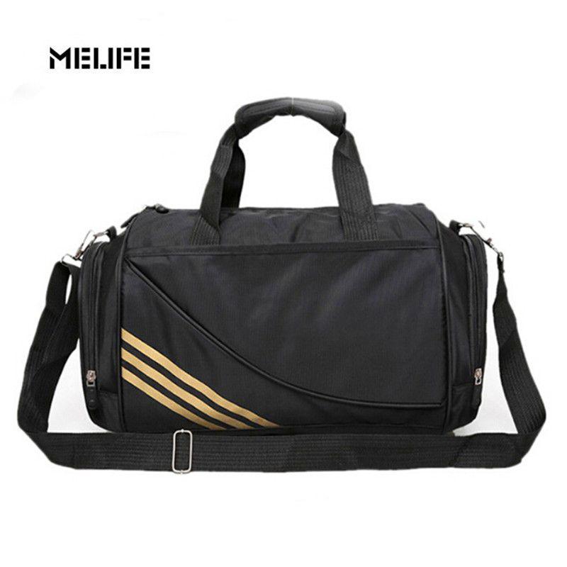 Melife New Uni Waterproof Gym Bag Capacity Fitness Men Nylon Material Multifunctional Sport Duffle Bags