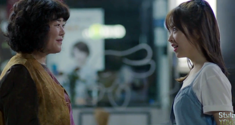 Ona's Ghost: Park Bo Young's One Piece :: Ona ears 6 times, 7 times Na Bongsun Denim Dress :: Style