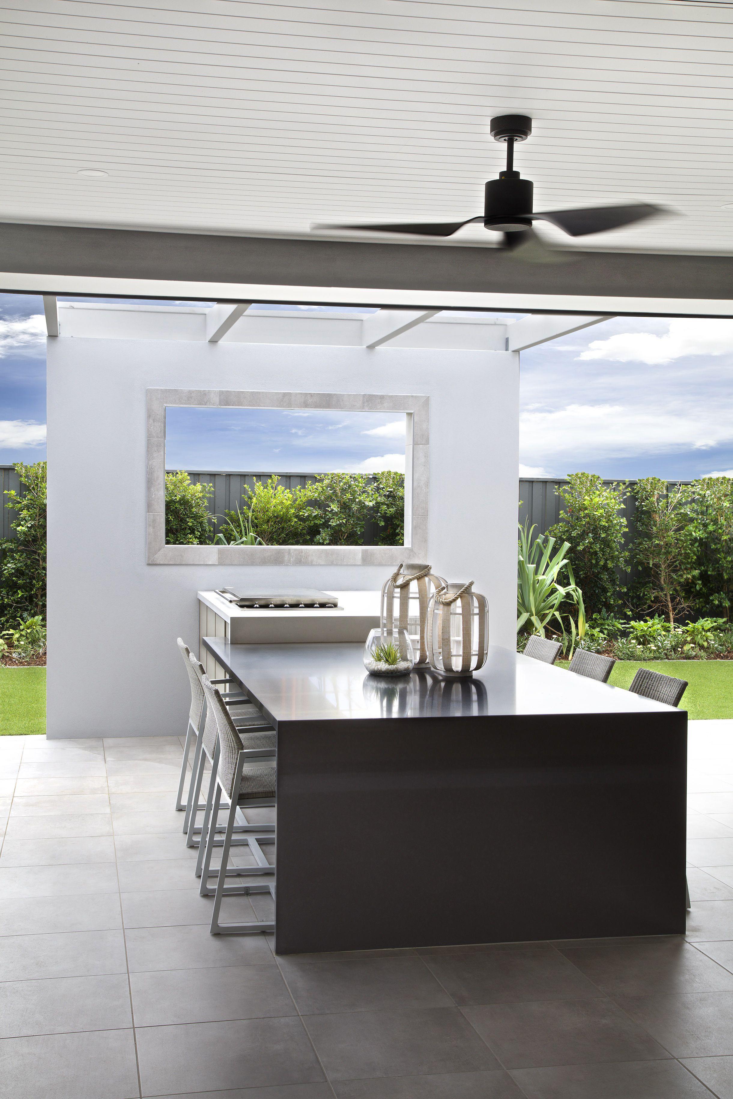 Clarendon Homes. Sheridan 37. Stylish Grand Aflresco dining area ...