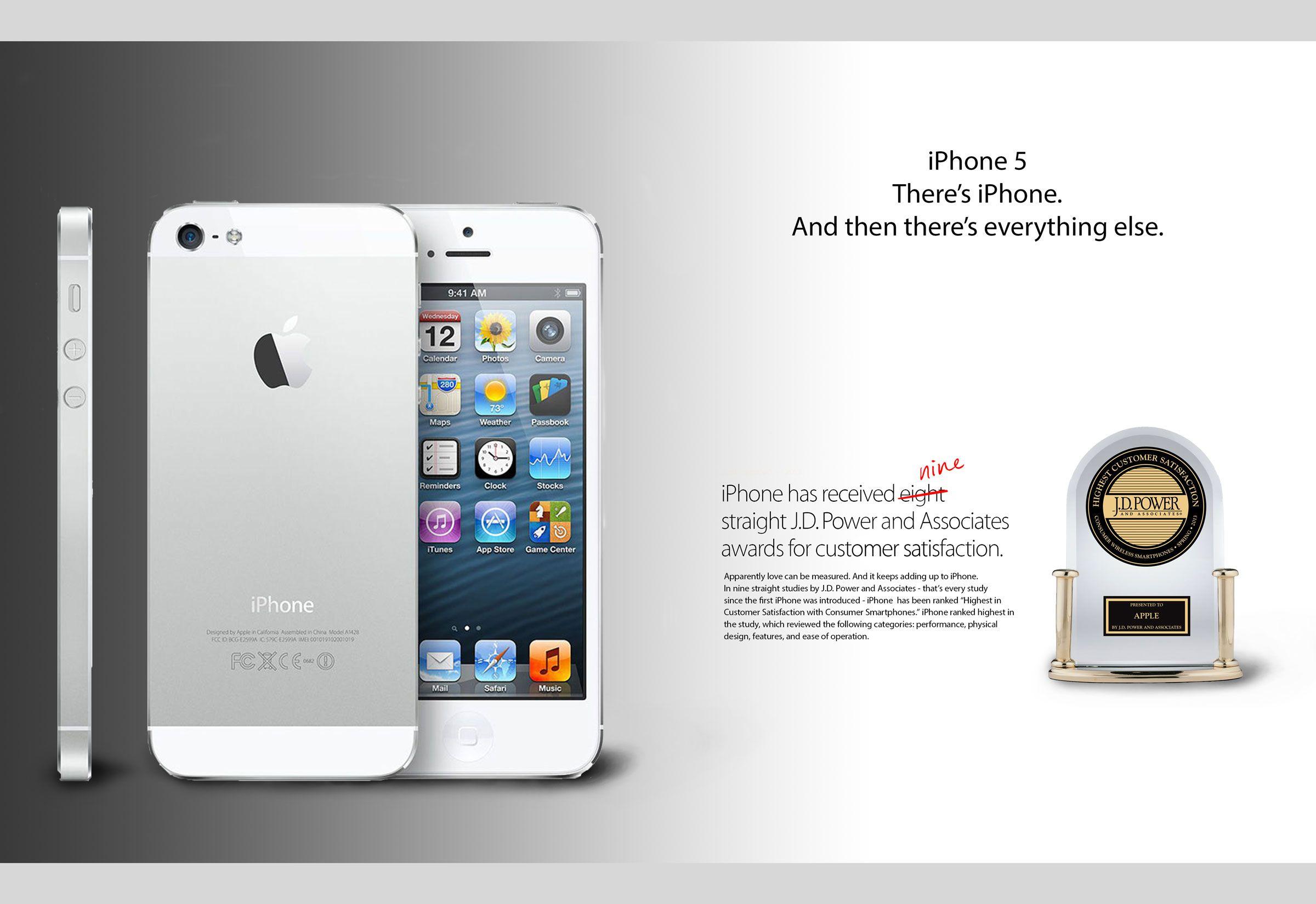 Iphone 5s magazine ad
