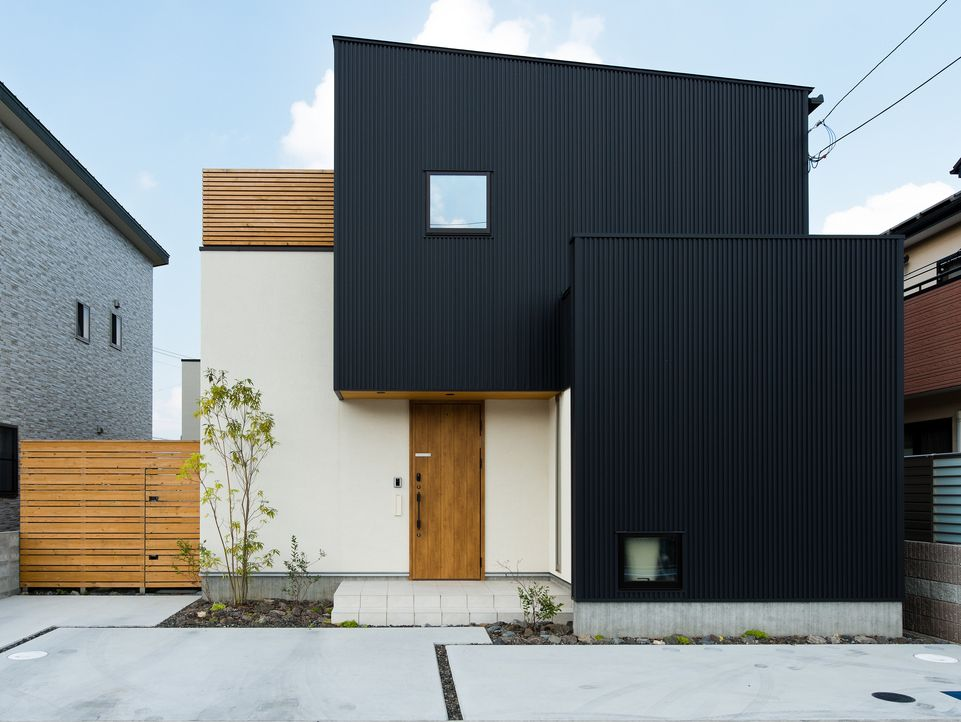 Black White モダンレジデンス 注文住宅の事例写真 デザイン集