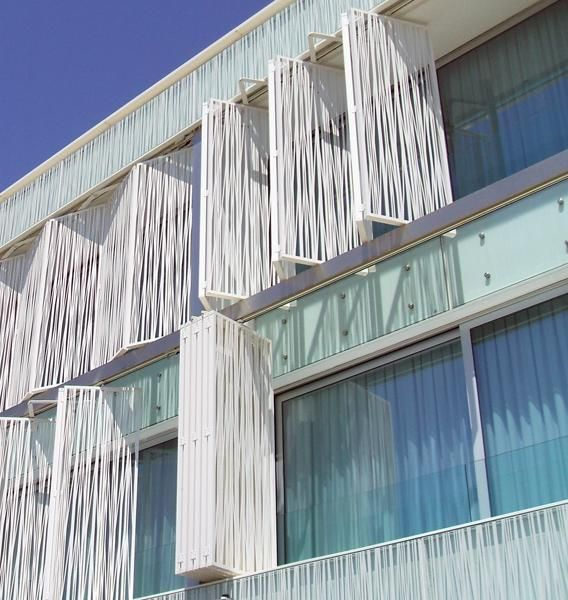 Limelight folding shutters altis bel m hotel pinterest Folding facade