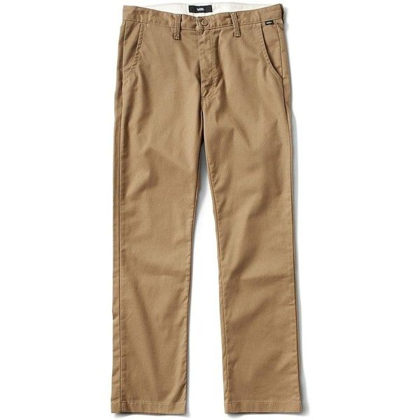 b621b2ec0f70a6 Vans Authentic Chino Pro Pant ( 55) ❤ liked on Polyvore featuring men s  fashion