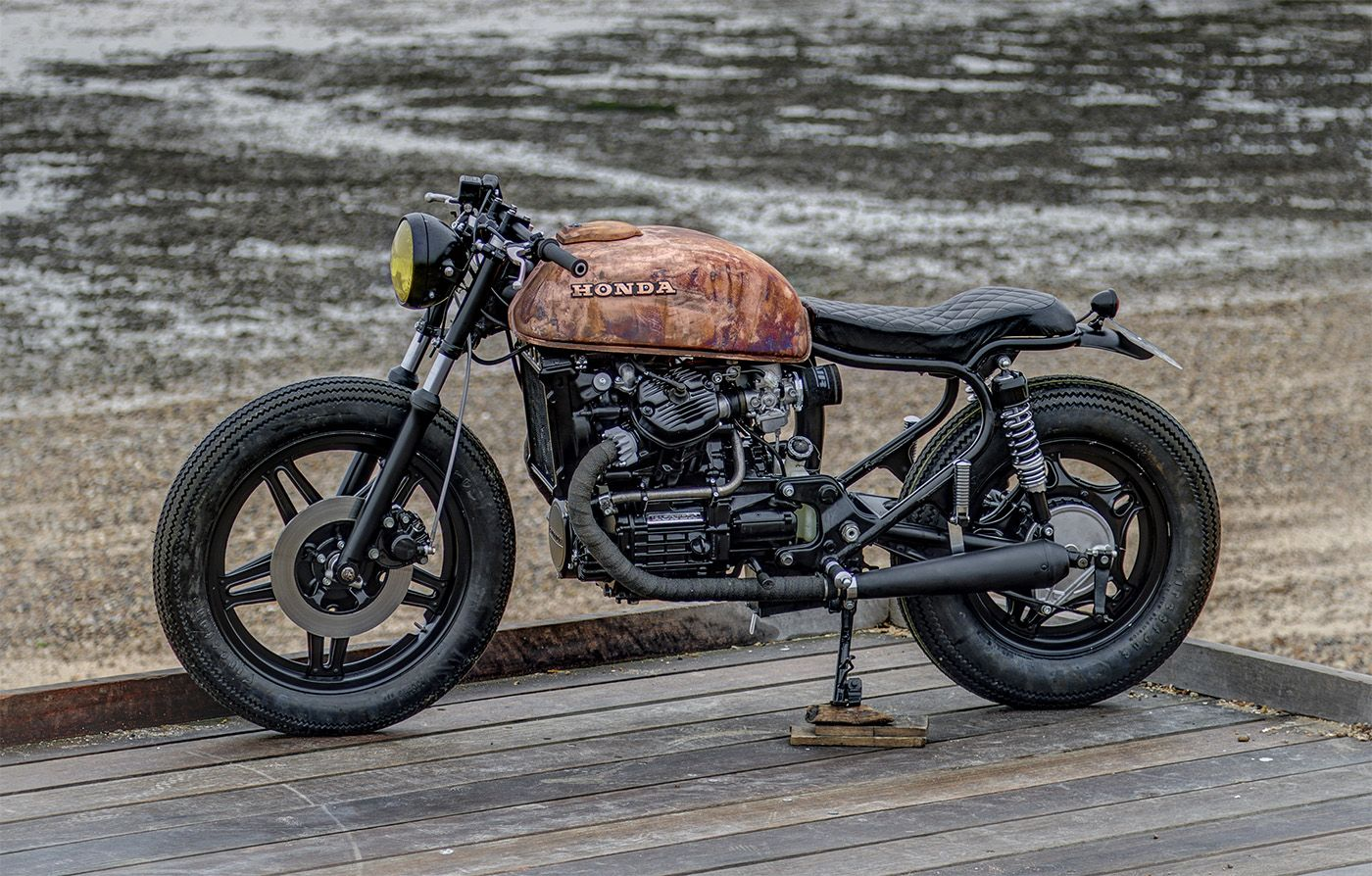 Copper Gas Tank Motorcycle